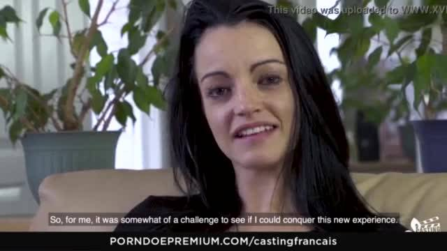 Casting francais – canadian amateur gets cum on tits in audition fuck
